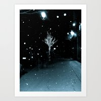 WHITEOUT : Wintree Art Print