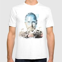 Paint a new idea Mens Fitted Tee White SMALL