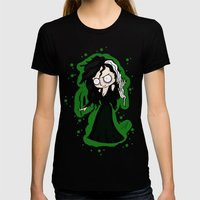 Bellatrix Womens Fitted Tee Black SMALL