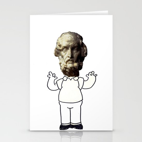 HOMER simpson Stationery Card