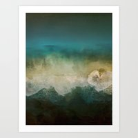 Lost @ Sea Art Print