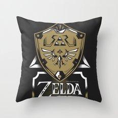 Zelda v89 Throw Pillow
