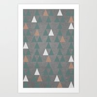 Concrete & Pattern Art Print