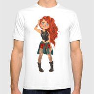 T-shirt featuring Modern AU: Merida by Anoosha Syed