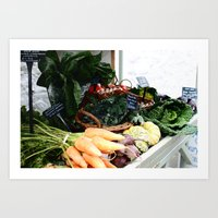 This Is Our Food Art Print