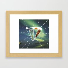 Another Day Another Diamond Framed Art Print