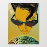 Kisses from Planet Uzu - last version + pillow version Canvas Print