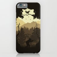 iPhone & iPod Case featuring Hunting Season - Brown by Dianne Delahunty