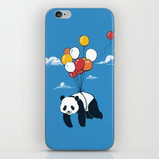 Flying Panda iPhone & iPod Skin