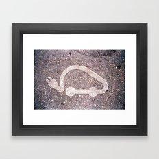 électrique Framed Art Print