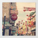Chinatown (San Francisco) Canvas Print