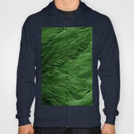 Green Feathers Hoody