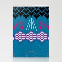HARMONY Pattern Alt 1 Stationery Cards