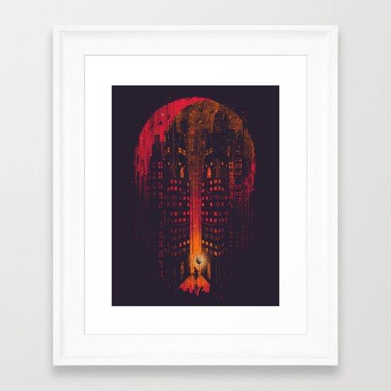 Master Of Illusion Framed Art Print
