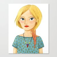 Fishtail Canvas Print