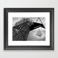 Soul Protector Framed Art Print