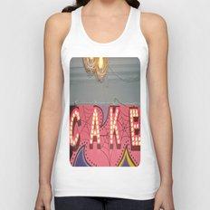 Cake ~ pop carnival signage Unisex Tank Top