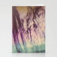 Purple Blue Fluorite from our Earth Stationery Cards
