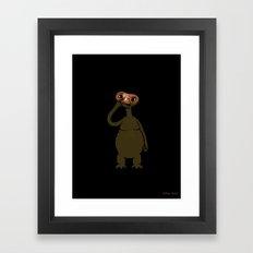 ET Pick Nose Framed Art Print