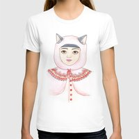 Hood Womens Fitted Tee White SMALL
