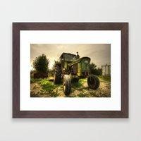 John Deere 2130  Framed Art Print