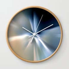 Blue splash Wall Clock