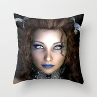 Window To My Soul Throw Pillow
