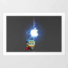 Thor....Nano Art Print