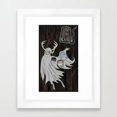 ...From the Trees. Framed Art Print
