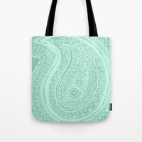 C13 paisley pattern Tote Bag