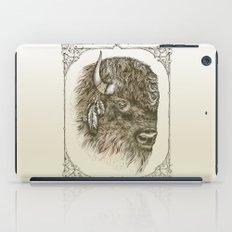 Portrait of a Buffalo iPad Case