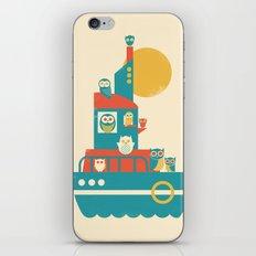 Owl Aboard iPhone & iPod Skin