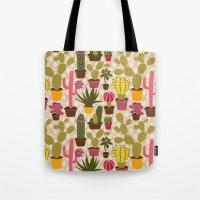 Cactus Cuties Tote Bag