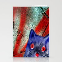 Gordon The Graffiti Cat Stationery Cards