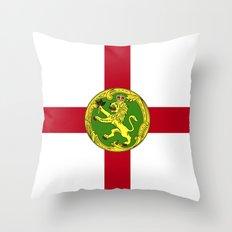 Alderney Flag Throw Pillow