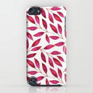 Watercolor Leaf iPod touch Slim Case