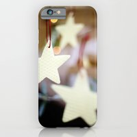 iPhone & iPod Case featuring Christmas Stars by Young Swan Designs