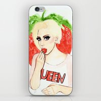 Strawberry Queen iPhone & iPod Skin
