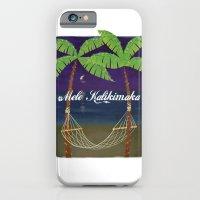 Mele Kalikimaka 2012 iPhone 6 Slim Case