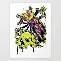 Scavangers Art Print