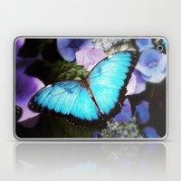 Morpho Bleu Laptop & iPad Skin