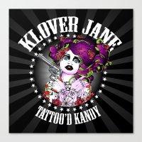 KLOVER JANE Canvas Print