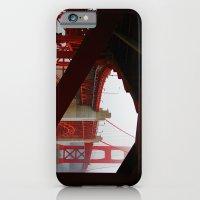 iPhone & iPod Case featuring San Francisco Golden Gate by Jillian Schipper