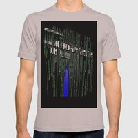 Blue Pill Mens Fitted Tee Cinder SMALL