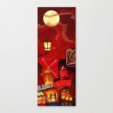 Paris in Red Canvas Print