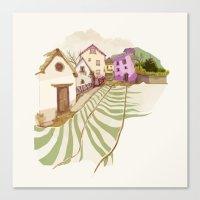 Village Canvas Print