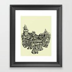 Landscape 03 Framed Art Print