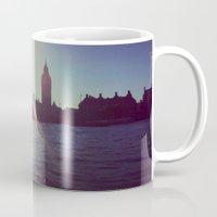 Big Ben Silhouette   Mug