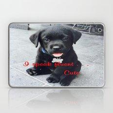 I speak fluent . . . Cute Laptop & iPad Skin