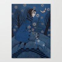 December Park (3) Canvas Print